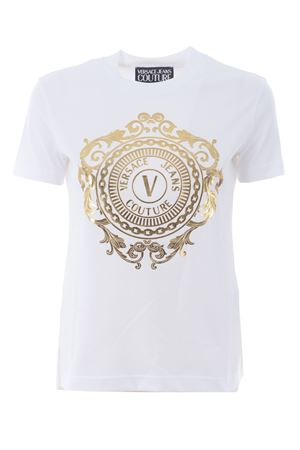 T-shirt Versace Jeans Couture in cotone VERSACE JEANS | 8 | B2HWA7FA30454-K41