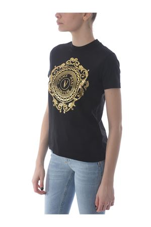 T-shirt Versace Jeans Couture in cotone VERSACE JEANS | 8 | B2HWA7FA30454-K42