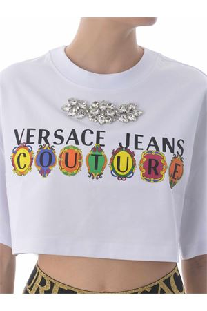 T-shirt Versace Jeans Couture in cotone VERSACE JEANS | 8 | B2HWA7PB30439-003