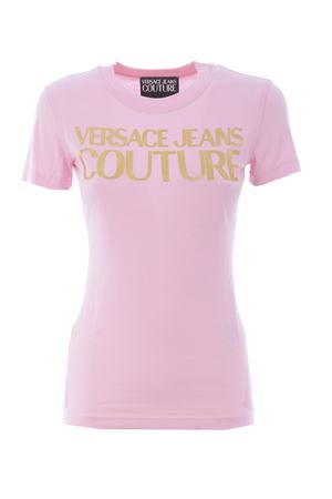 T-shirt Versace Jeans Couture in cotone VERSACE JEANS | 8 | B2HWA7TB30319-402