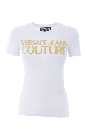 T-shirt Versace Jeans Couture in cotone VERSACE JEANS | 8 | B2HWA7TB30319-K41