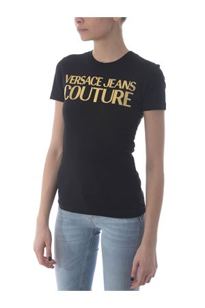 T-shirt Versace Jeans Couture in cotone VERSACE JEANS | 8 | B2HWA7TB30319-K42