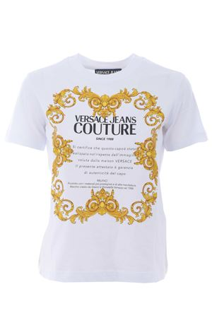 T-shirt Versace Jeans Couture in cotone VERSACE JEANS | 8 | B2HWA7TJ30319-003
