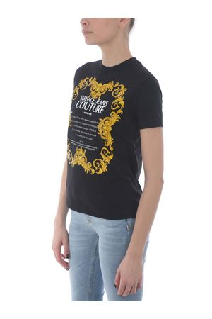 T-shirt Versace Jeans Couture in cotone VERSACE JEANS | 8 | B2HWA7TJ30319-899