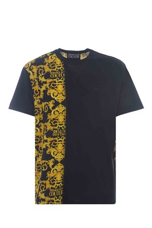 T-shirt Versace Jeans Couture in cotone stretch VERSACE JEANS | 8 | B3GWA7R1S0155-899