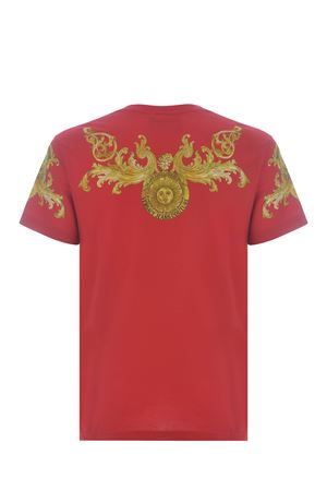 T-shirt Versace Jeans Couture Barocco in cotone VERSACE JEANS | 8 | B3GWA7S1S0274-514