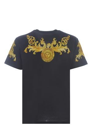 T-shirt Versace Jeans Couture Barocco in cotone VERSACE JEANS | 8 | B3GWA7S1S0274-899