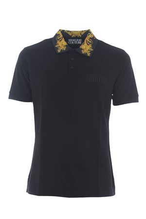 Versace Jeans polo shirt in cotton pique VERSACE JEANS | 2 | B3GWA7T236571-K42