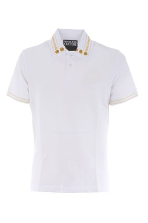 Versace Jeans Couture polo shirt in cotton pique VERSACE JEANS | 2 | B3GWA7T636571-K41
