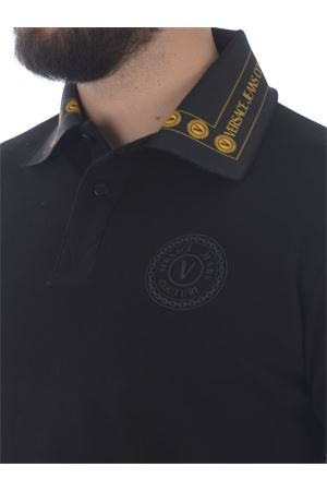 Versace Jeans Couture polo shirt in cotton pique VERSACE JEANS | 2 | B3GWA7T636571-K42