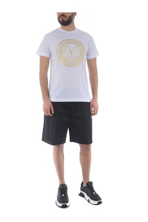 T-shirt Versace Jeans Couture in cotone VERSACE JEANS | 8 | B3GWA7TE30319-K41