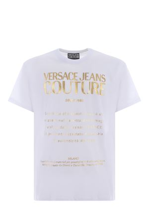 T-shirt Versace Jeans Couture in cotone VERSACE JEANS | 8 | B3GWA7VT30319-K41