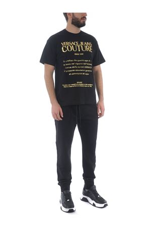 T-shirt Versace Jeans Couture in cotone VERSACE JEANS | 8 | B3GWA7VT30319-K42