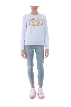 Felpa Versace Jeans Couture in cotone VERSACE JEANS | 10000005 | B6HWA7TM30318-K41