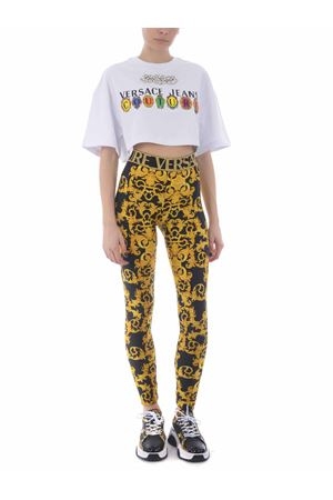 Leggings Versace Jeans Couture in lycra VERSACE JEANS | -1927212704 | D5HWA101S0125-899