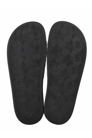 Versace Jeans Couture Gummy eco-leather slippers VERSACE JEANS | 5032249 | E0YWASQ171352-899
