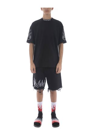 Vision of Super cotton t-shirt VISION OF SUPER | 8 | B1FIREREFLEXBLACK