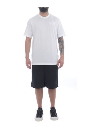 T-shirt Y-3 Chest Logo in cotone Y-3 | 8 | FN3359WHITE