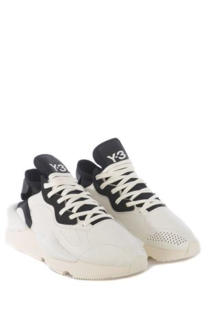 Y-3 Kaiwa leather sneakers Y-3 | 5032245 | FZ4326CWHITE-OWHITE-BLACK