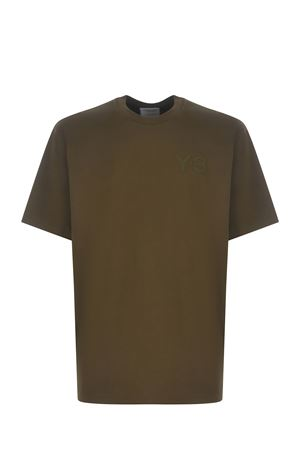 Y-3 Logo cotton T-shirt Y-3 | 8 | GV4113KHAKI