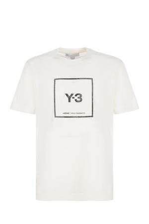 Y-3 cotton T-shirt Y-3 | 8 | GV6061CWHITE