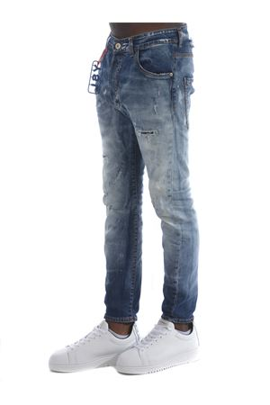 Jeans Yes London in denim stretch YES LONDON | 24 | XJ2964TWIST