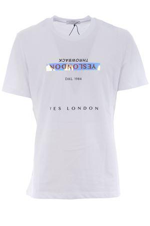 Yes London cotton T-shirt YES LONDON | 8 | XM3866BIANCO