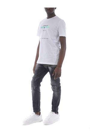 T-shirt Yes London in cotone YES LONDON | 8 | XM3866BIANCO