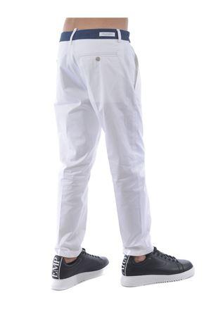 Yes London stretch cotton trousers YES LONDON | 9 | XP2850BIANCO