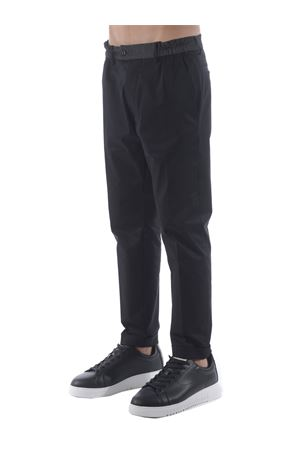 Pantaloni Yes London in cotone stretch YES LONDON | 9 | XP2850NERO
