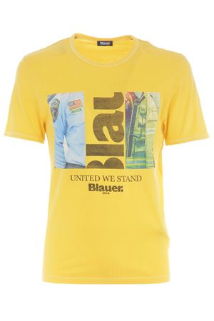 Blauer cotton T-shirt BLAUER | 8 | BLUH022565321-223
