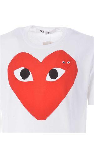 T-shirt Comme des Garçons Play COMME des GARCONS | 8 | T026WHITE