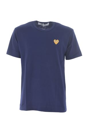 T-shirt Comme des Garçons Play COMME des GARCONS | 8 | T216NAVY