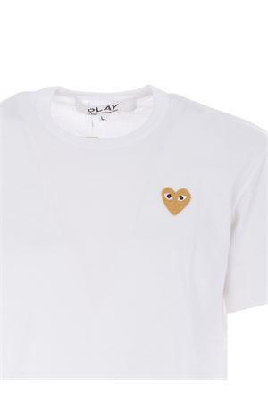 T-shirt Comme des Garçons Play COMME des GARCONS | 8 | T216WHITE