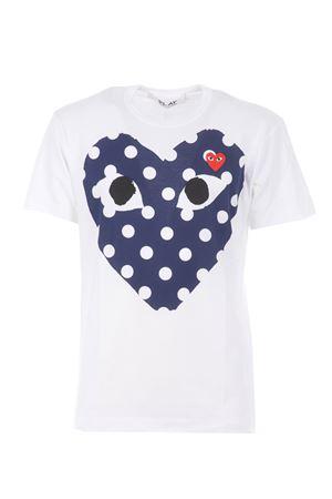 T-shirt Comme des Garçons Play COMME des GARCONS | 8 | T234WHITE