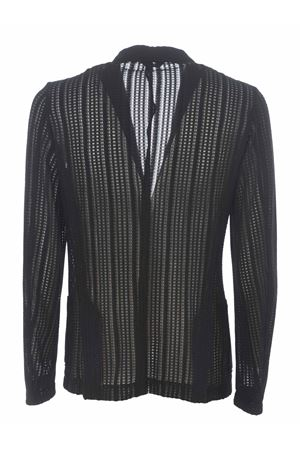 Daniele Alessandrini jacket in perforated knit D.A. DANIELE ALESSANDRINI | 3 | G2577S2175-1
