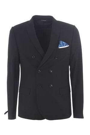 Gray Daniele Alessandrini jacket in viscose blend D.A. DANIELE ALESSANDRINI | 3 | G2840N938-1