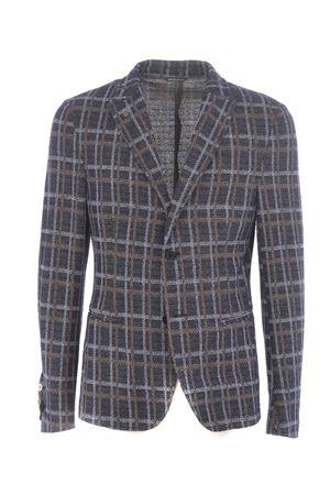 Daniele Alessandrini jacket in bouclé effect knit D.A. DANIELE ALESSANDRINI | 3 | G3125E792-23