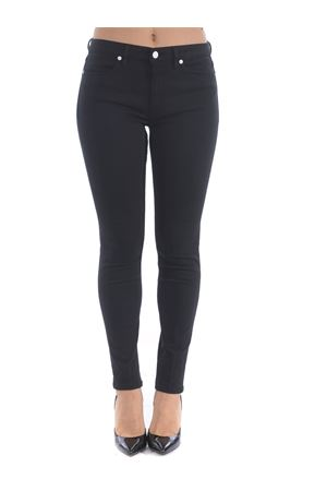 Dondup Iris jeans in black super stretch cotton canvas.  DONDUP | 24 | DP450BS0026PTR-999