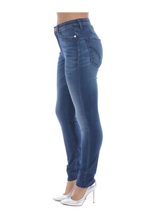 Dondup Iris jeans in super stretch stone wash denim. DONDUP | 24 | DP450DS0264AD5-800