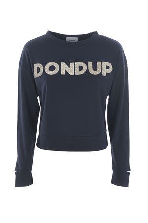 Felpa Dondup logo DONDUP | 10000005 | F197KS0020ZA2-897