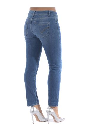 Dondup monroe jeans in stone wash stretch denim.  DONDUP | 24 | P692DSE245EB7-800