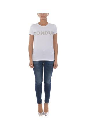 T-shirt Dondup logo DONDUP | 8 | S007JS0241ZE2-000