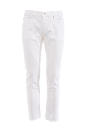 Dondup mius jeans in White stretch denim. DONDUP | 24 | UP168BS0009AF8-000