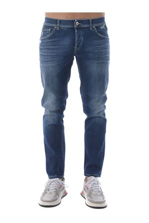 Dondup mius jeans in stone wash stretch denim.  DONDUP | 24 | UP168DSE270EA4-800