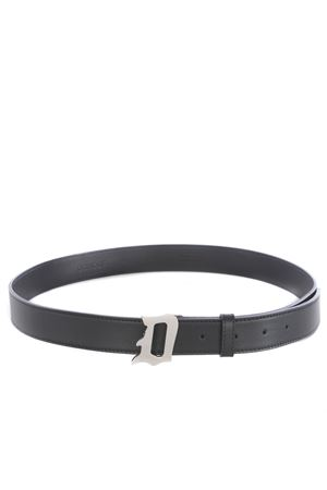 Dondup belt in black leather DONDUP | 22 | XC116Y00425ZD3-999