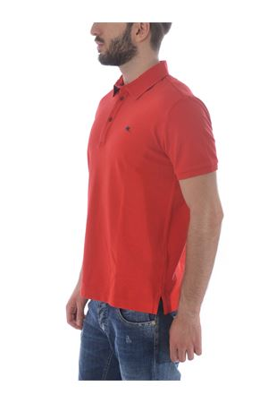 Etro polo shirt in red cotton pique ETRO | 2 | 1Y1419240-600