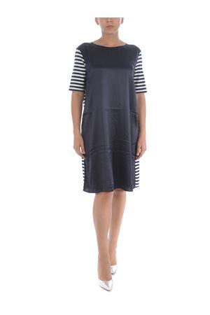 Fay dress in Blue stretch silk satin FAY | 11 | N8WJ240671SRQP0264