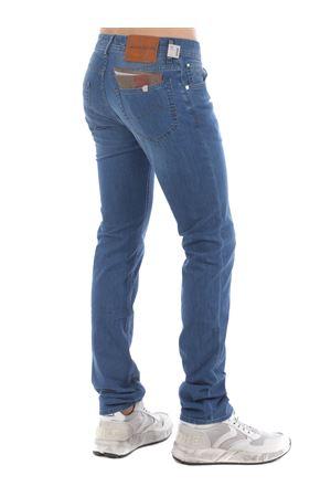 Jacob Cohen jeans in light stone wash stretch denim.  JACOB COHEN | 9 | J62200517-003