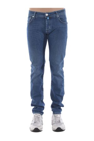 Jacob Cohen jeans in stone wash stretch denim.  JACOB COHEN | 9 | J62200918-002